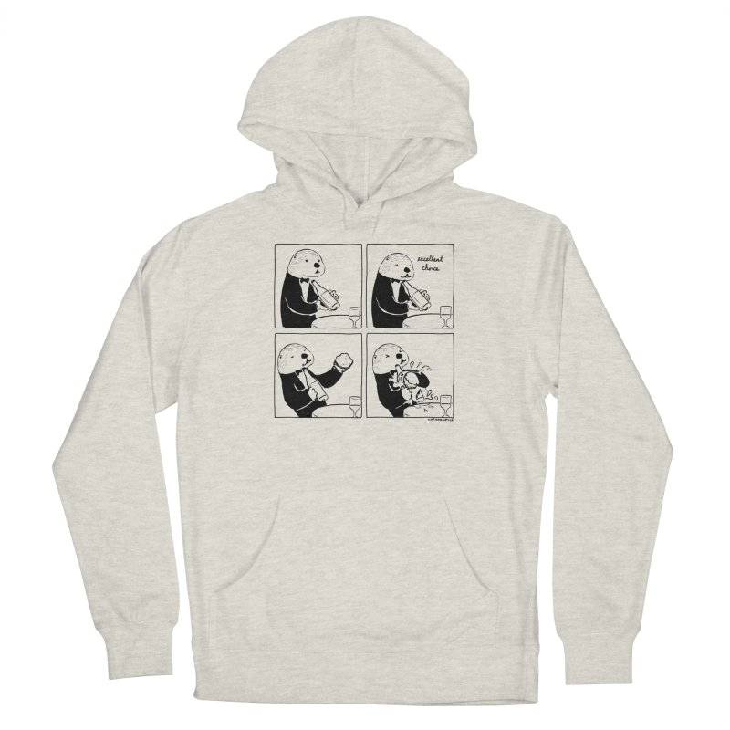EXCELLENT CHOICE / OTTER Men's Pullover Hoody by Nathan W Pyle