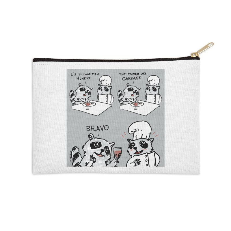 GARBAGE Accessories Zip Pouch by Nathan W Pyle