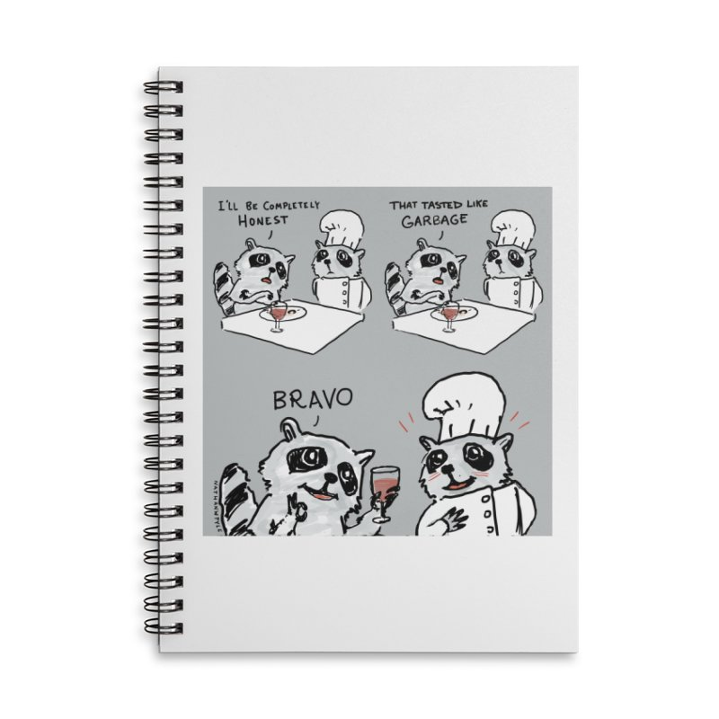 GARBAGE Accessories Lined Spiral Notebook by Nathan W Pyle