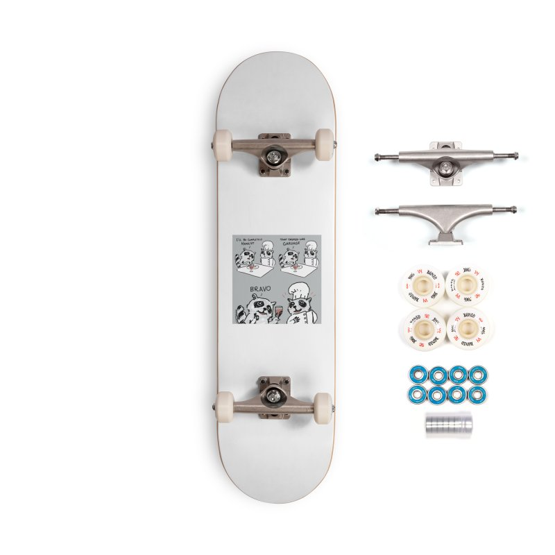 GARBAGE Accessories Complete - Premium Skateboard by Nathan W Pyle