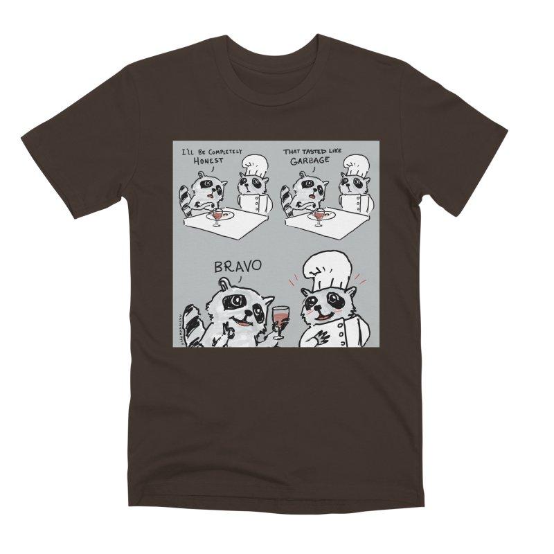 GARBAGE Men's Premium T-Shirt by Nathan W Pyle