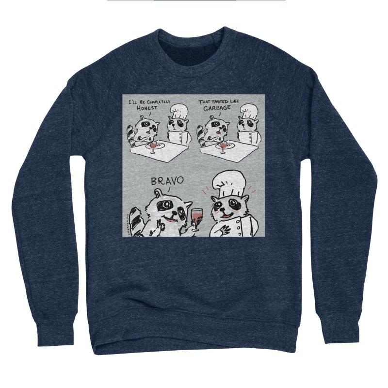 GARBAGE Women's Sponge Fleece Sweatshirt by Nathan W Pyle
