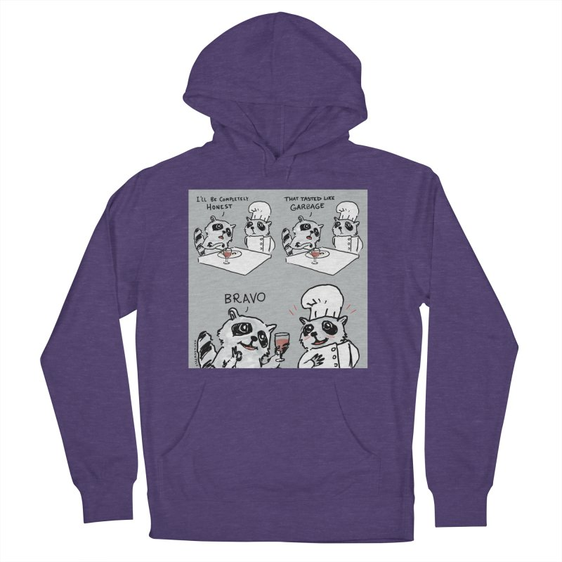 GARBAGE Women's French Terry Pullover Hoody by Nathan W Pyle