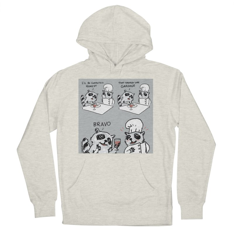 GARBAGE Men's French Terry Pullover Hoody by Nathan W Pyle