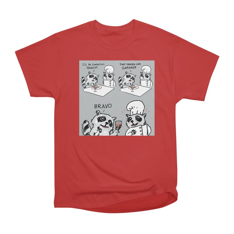 GARBAGE Women's Heavyweight Unisex T-Shirt by Nathan W Pyle