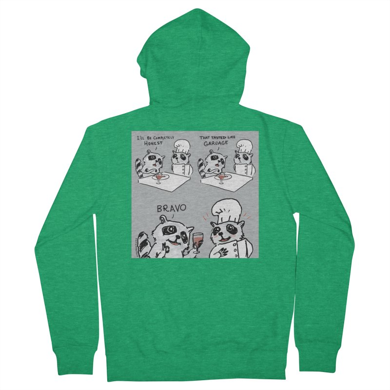 GARBAGE Women's Zip-Up Hoody by Nathan W Pyle Shop | Strange Planet Store | Thread