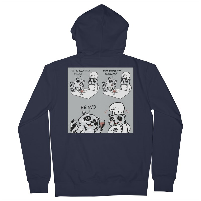 GARBAGE Women's French Terry Zip-Up Hoody by Nathan W Pyle
