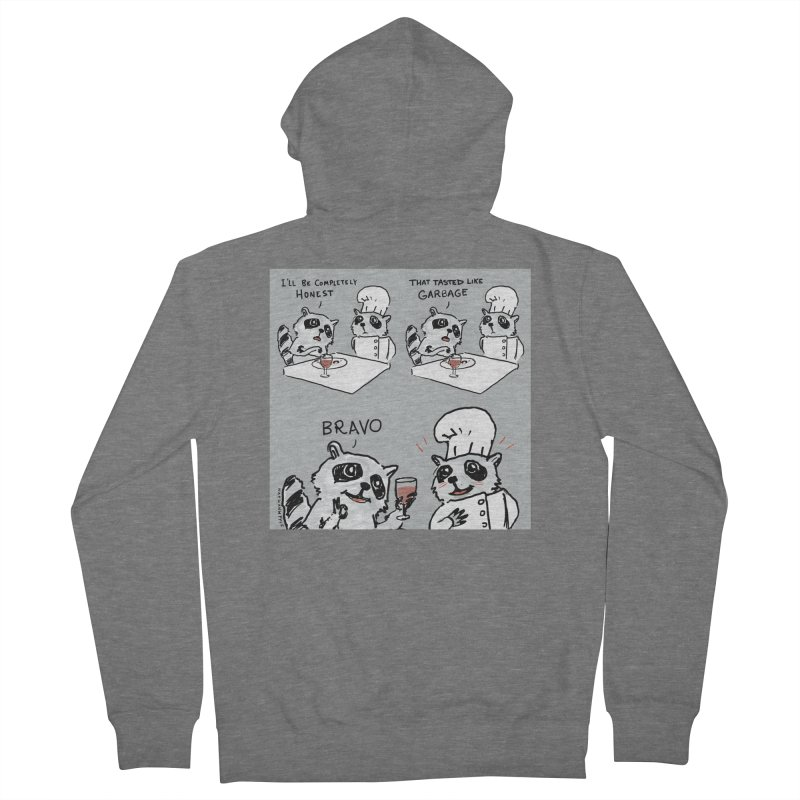 GARBAGE Men's Zip-Up Hoody by Nathan W Pyle