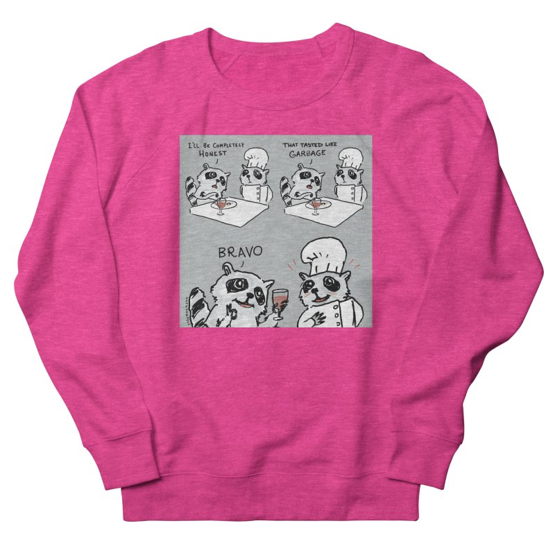 GARBAGE Men's French Terry Sweatshirt by Nathan W Pyle
