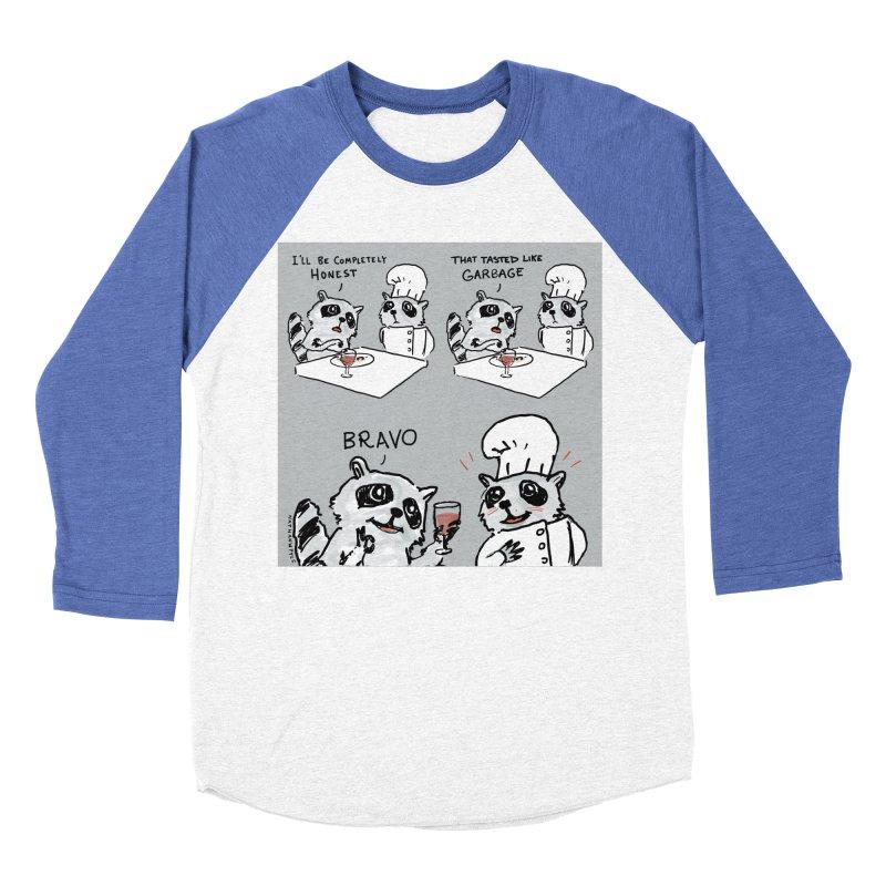 GARBAGE Women's Baseball Triblend Longsleeve T-Shirt by Nathan W Pyle