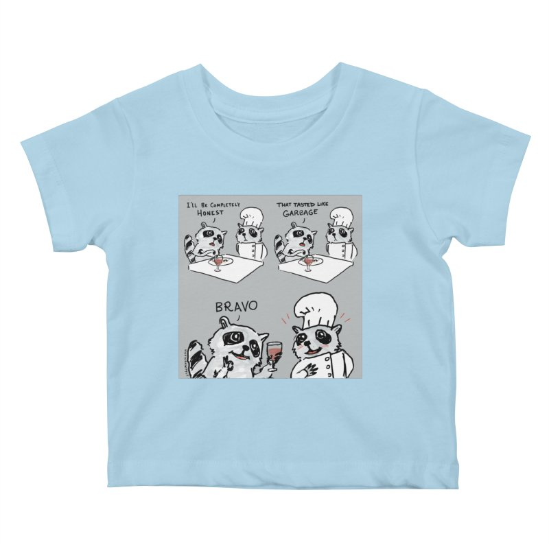 GARBAGE Kids Baby T-Shirt by Nathan W Pyle