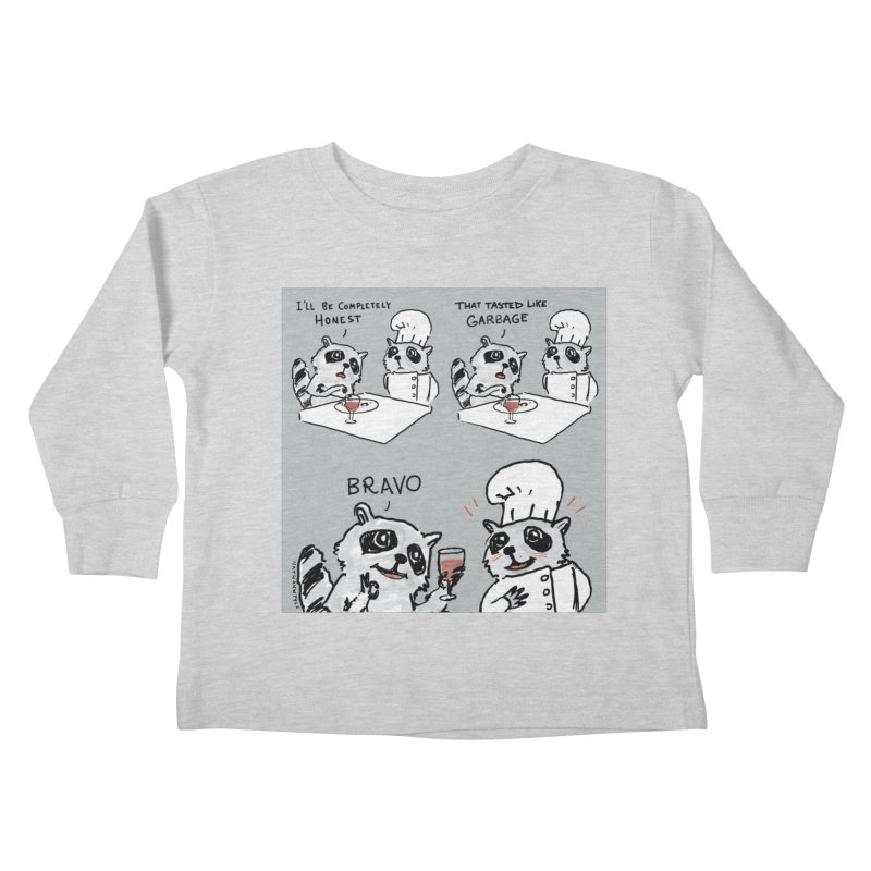 GARBAGE Kids Toddler Longsleeve T-Shirt by Nathan W Pyle