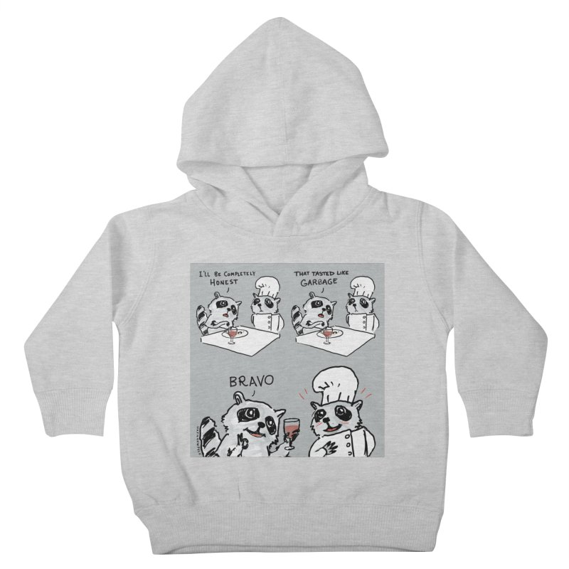 GARBAGE Kids Toddler Pullover Hoody by Nathan W Pyle