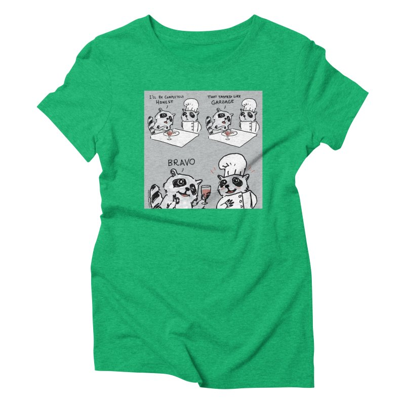 GARBAGE Women's Triblend T-Shirt by Nathan W Pyle