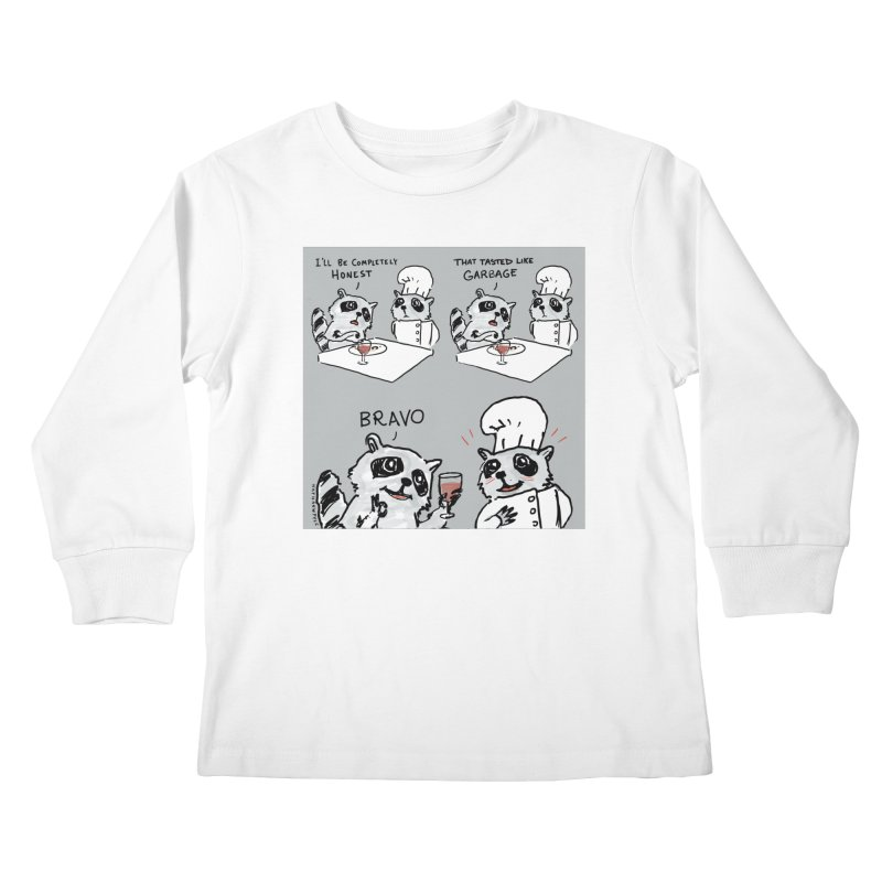 GARBAGE Kids Longsleeve T-Shirt by Nathan W Pyle