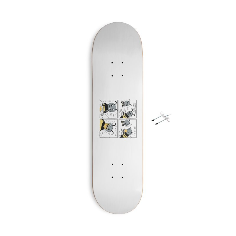 HONEY Accessories With Hanging Hardware Skateboard by Nathan W Pyle