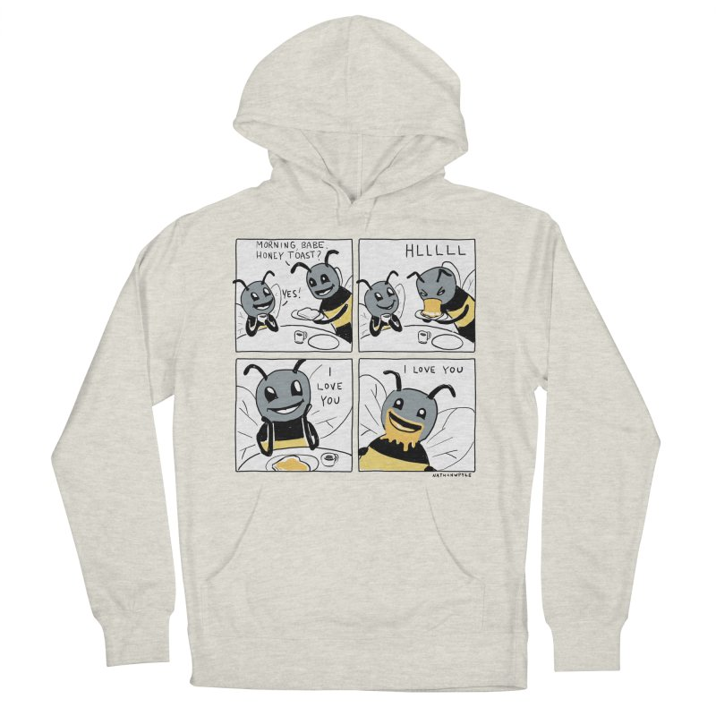 HONEY Men's French Terry Pullover Hoody by Nathan W Pyle