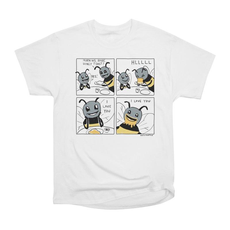 HONEY Men's Heavyweight T-Shirt by Nathan W Pyle