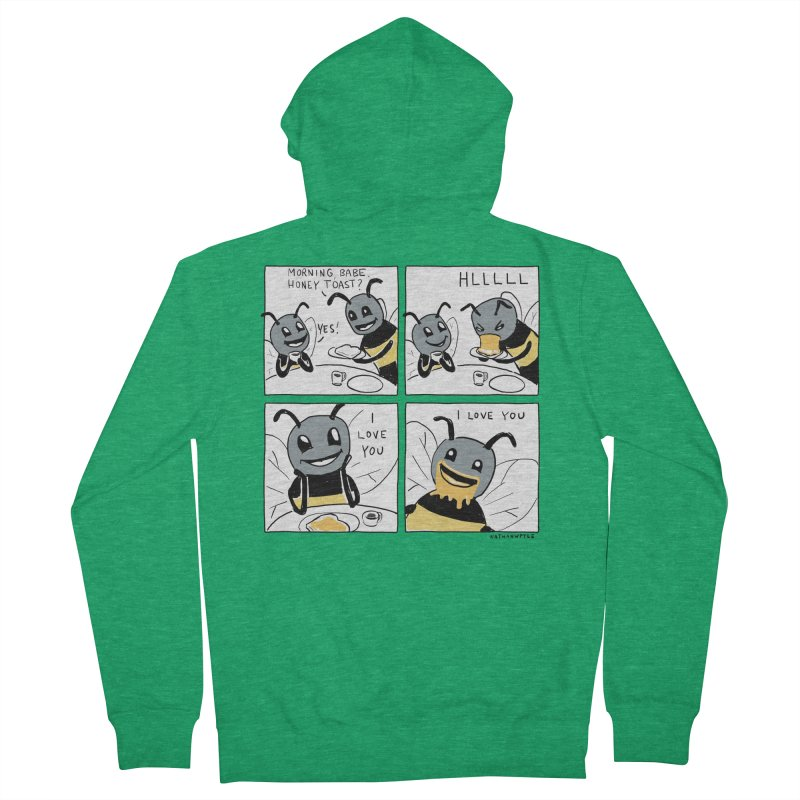 HONEY Women's Zip-Up Hoody by Nathan W Pyle