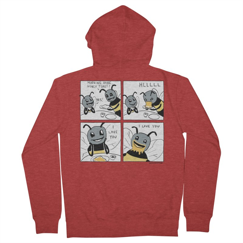 HONEY Men's Zip-Up Hoody by Nathan W Pyle
