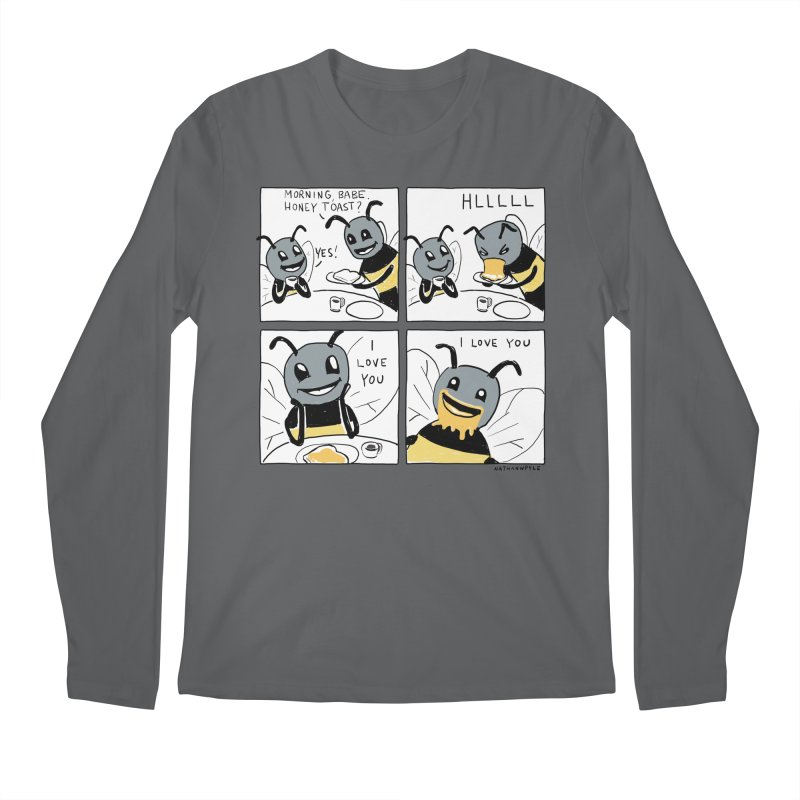 HONEY Men's Longsleeve T-Shirt by Nathan W Pyle