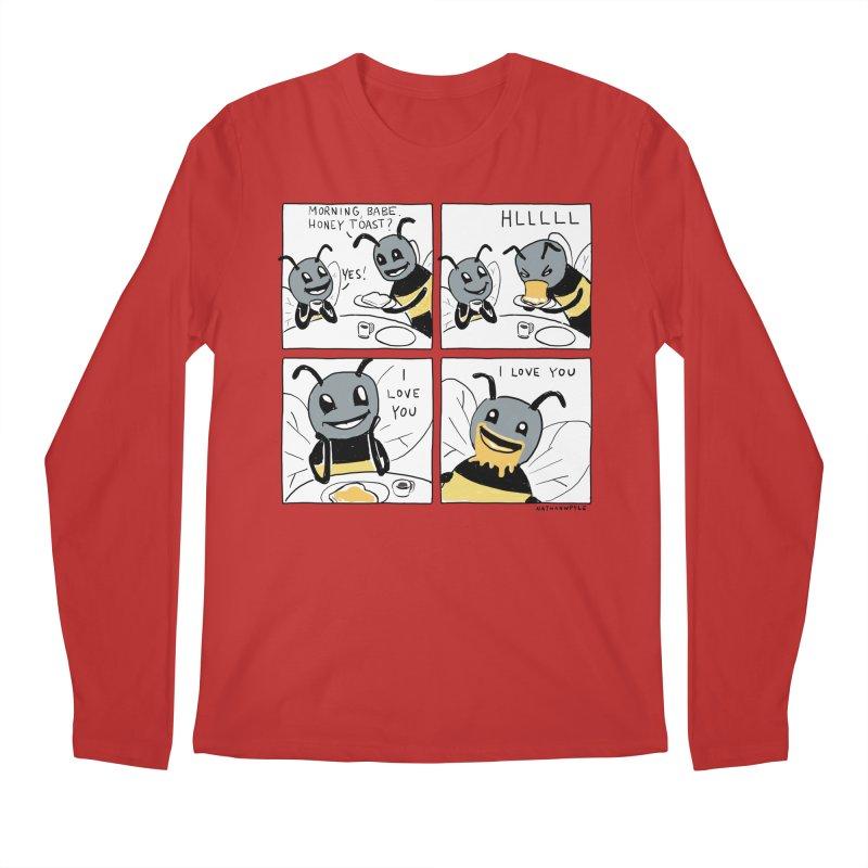 HONEY Men's Regular Longsleeve T-Shirt by Nathan W Pyle