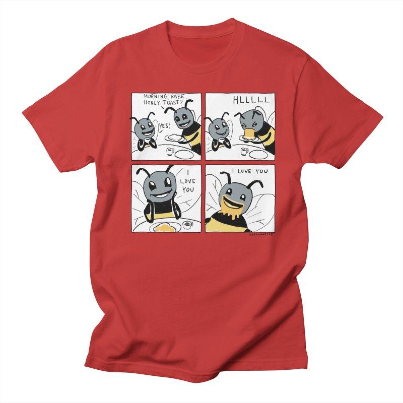 HONEY Men's Regular T-Shirt by Nathan W Pyle