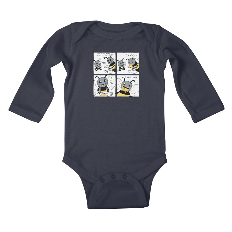 HONEY Kids Baby Longsleeve Bodysuit by Nathan W Pyle