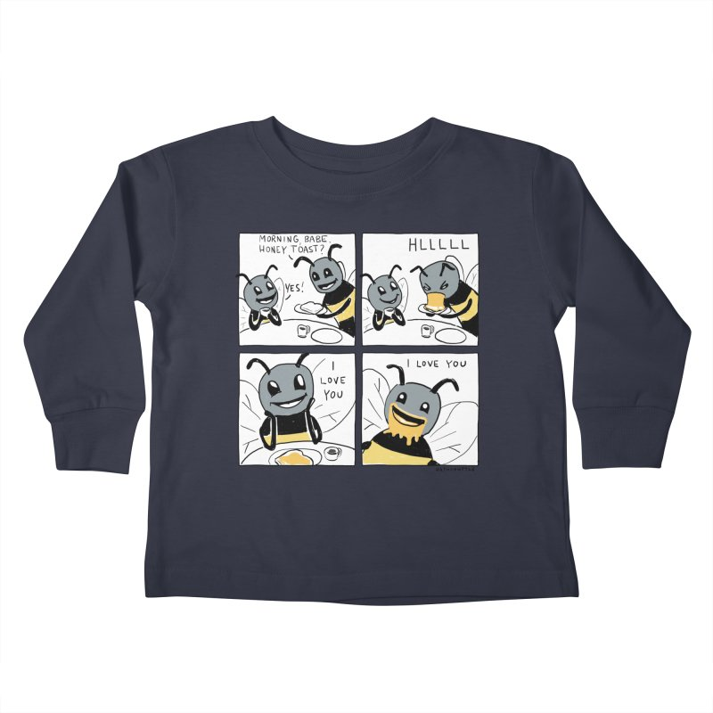 HONEY Kids Toddler Longsleeve T-Shirt by Nathan W Pyle
