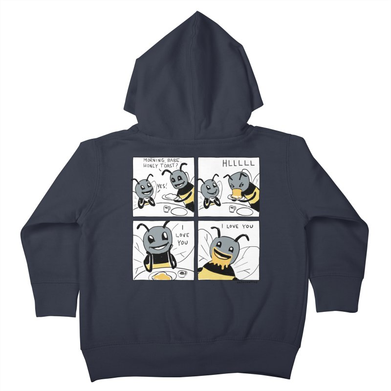 HONEY Kids Toddler Zip-Up Hoody by Nathan W Pyle Shop | Strange Planet Store | Thread
