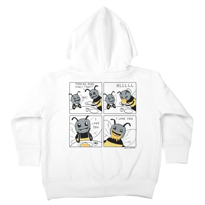 HONEY Kids Toddler Zip-Up Hoody by Nathan W Pyle Shop   Strange Planet Store   Thread