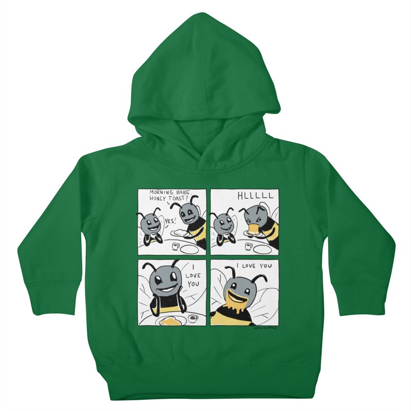 HONEY Kids Toddler Pullover Hoody by Nathan W Pyle