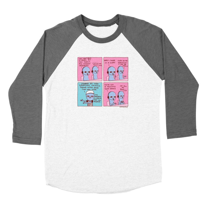 STRANGE PLANET: SUPERFLUOUS VIOLENCE / REGULATE YOUR SHOVES Women's Longsleeve T-Shirt by Nathan W Pyle