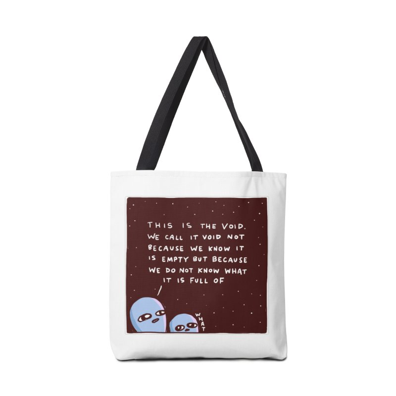 STRANGE PLANET SPECIAL PRODUCT: THE VOID Accessories Tote Bag Bag by Nathan W Pyle