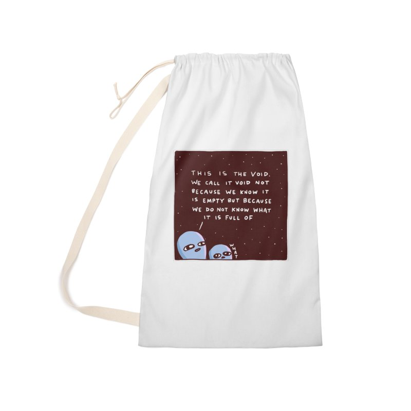 STRANGE PLANET SPECIAL PRODUCT: THE VOID Accessories Laundry Bag Bag by Nathan W Pyle