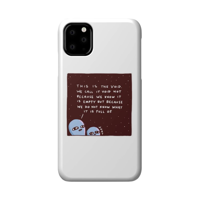 STRANGE PLANET SPECIAL PRODUCT: THE VOID Accessories Phone Case by Nathan W Pyle