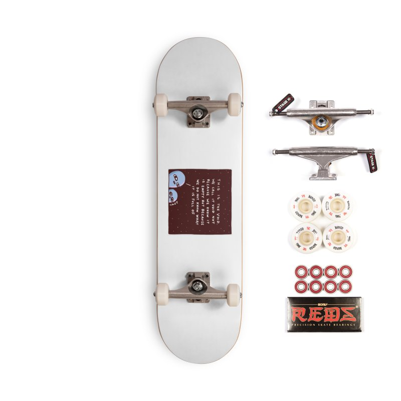 STRANGE PLANET SPECIAL PRODUCT: THE VOID Accessories Complete - Pro Skateboard by Nathan W Pyle