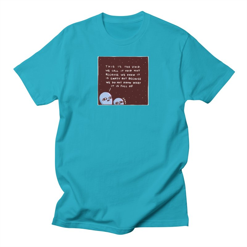 STRANGE PLANET SPECIAL PRODUCT: THE VOID Men's T-Shirt by Nathan W Pyle Shop   Strange Planet Store   Thread