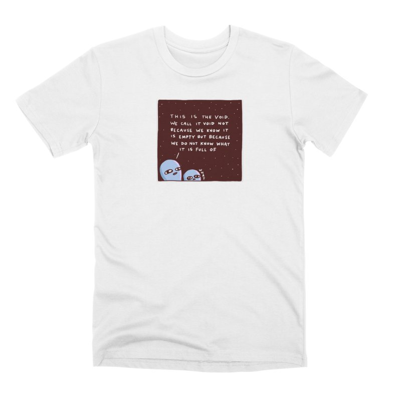 STRANGE PLANET SPECIAL PRODUCT: THE VOID Men's Premium T-Shirt by Nathan W Pyle
