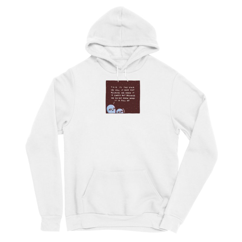 STRANGE PLANET SPECIAL PRODUCT: THE VOID Men's Pullover Hoody by Nathan W Pyle