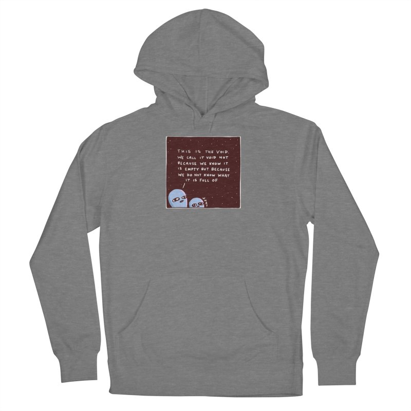 STRANGE PLANET SPECIAL PRODUCT: THE VOID Women's French Terry Pullover Hoody by Nathan W Pyle