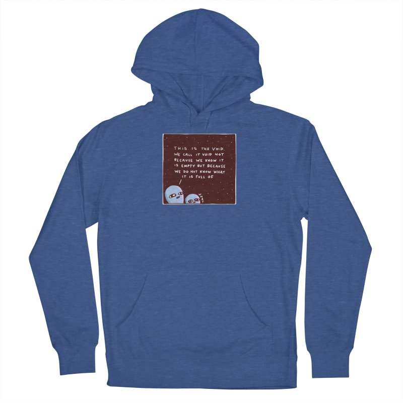 STRANGE PLANET SPECIAL PRODUCT: THE VOID Men's French Terry Pullover Hoody by Nathan W Pyle