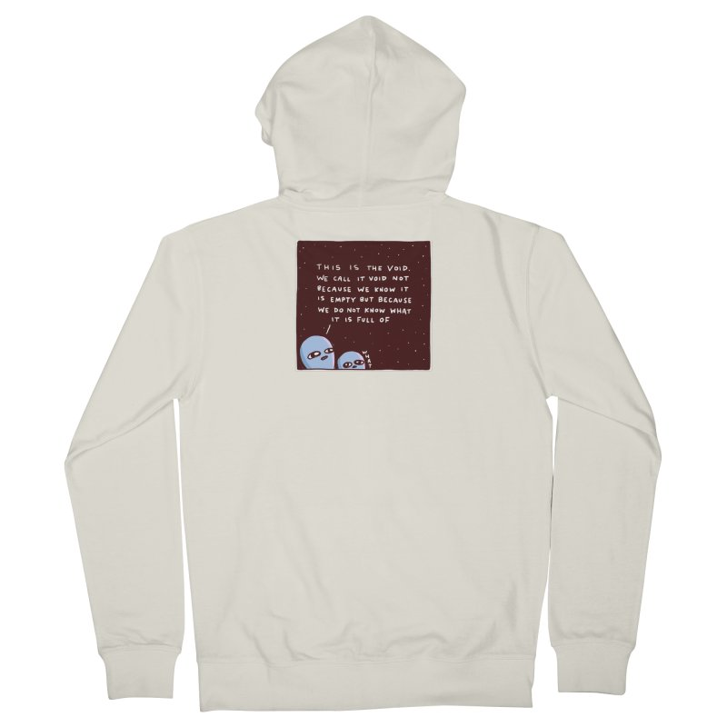 STRANGE PLANET SPECIAL PRODUCT: THE VOID Women's French Terry Zip-Up Hoody by Nathan W Pyle