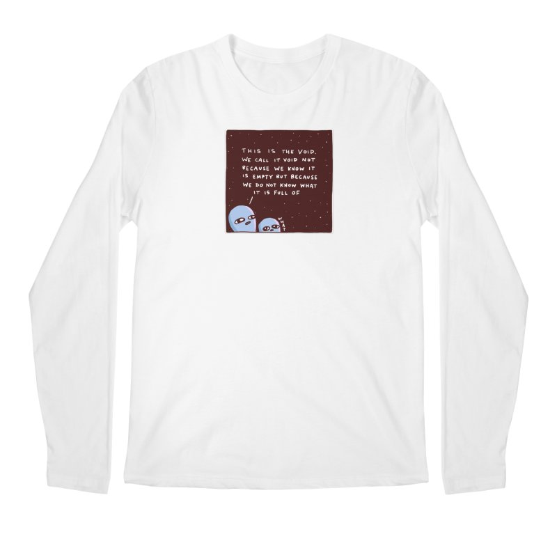 STRANGE PLANET SPECIAL PRODUCT: THE VOID Men's Longsleeve T-Shirt by Nathan W Pyle