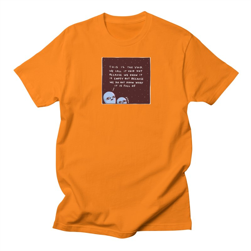 STRANGE PLANET SPECIAL PRODUCT: THE VOID Men's T-Shirt by Nathan W Pyle