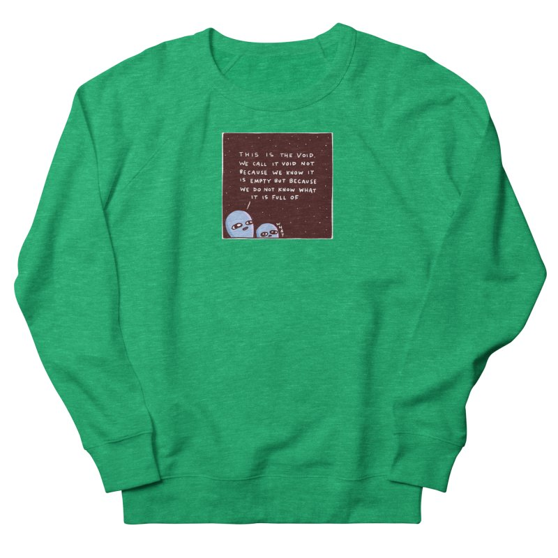 STRANGE PLANET SPECIAL PRODUCT: THE VOID Men's French Terry Sweatshirt by Nathan W Pyle