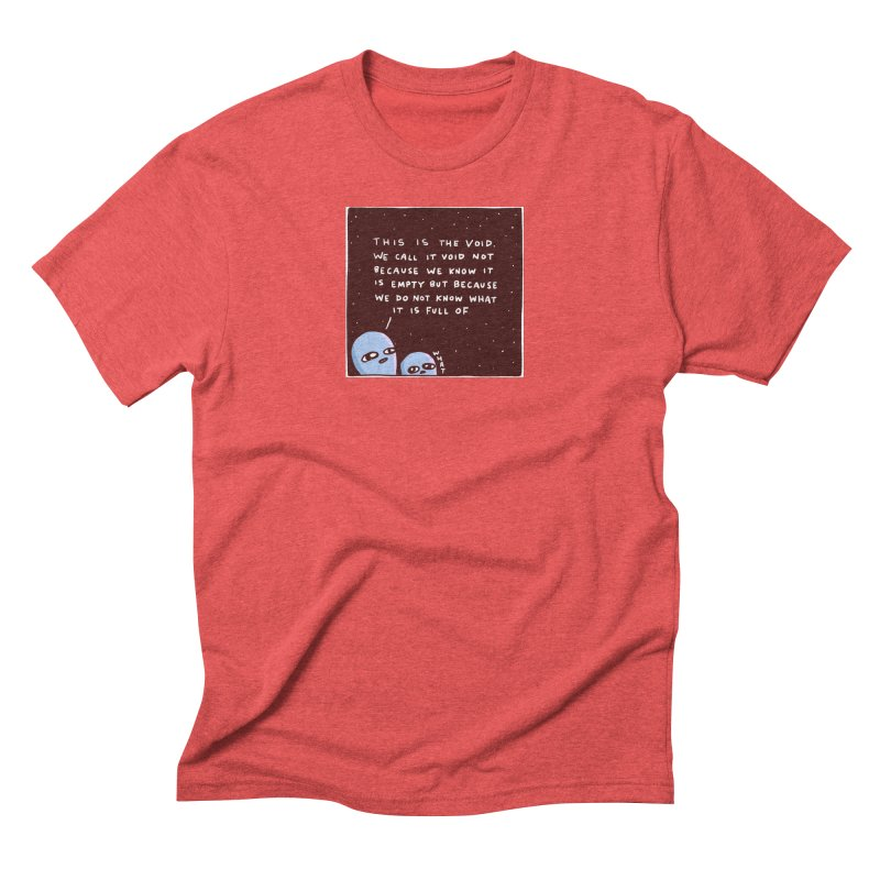 STRANGE PLANET SPECIAL PRODUCT: THE VOID Men's Triblend T-Shirt by Nathan W Pyle