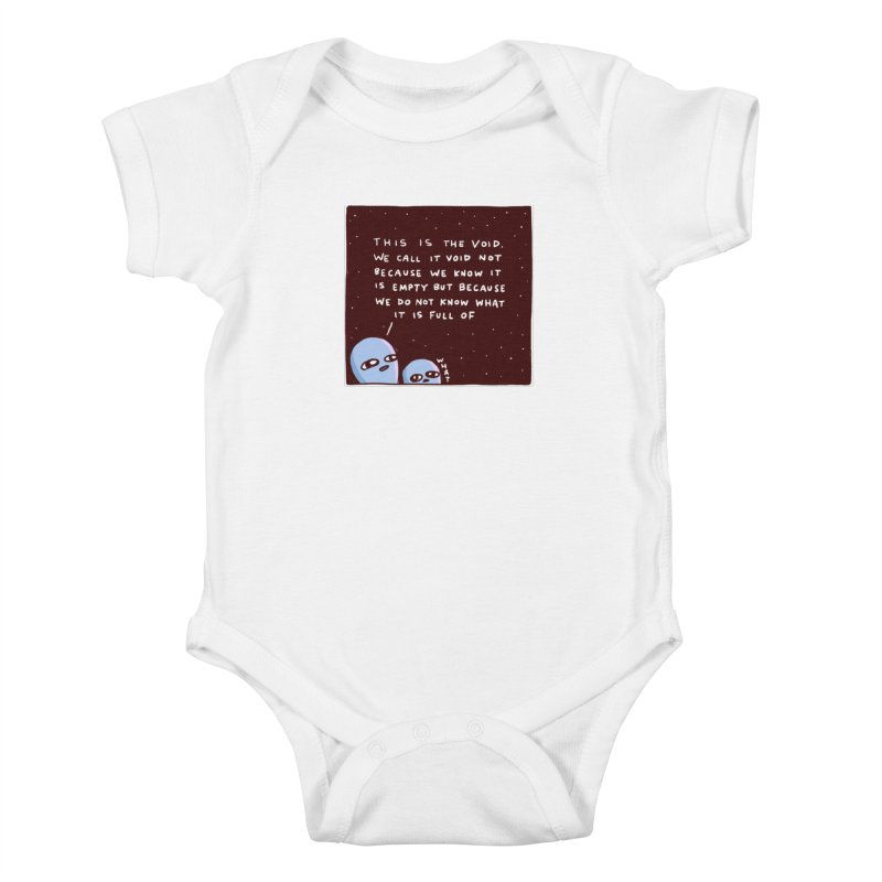 STRANGE PLANET SPECIAL PRODUCT: THE VOID Kids Baby Bodysuit by Nathan W Pyle