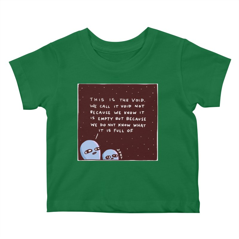 STRANGE PLANET SPECIAL PRODUCT: THE VOID Kids Baby T-Shirt by Nathan W Pyle