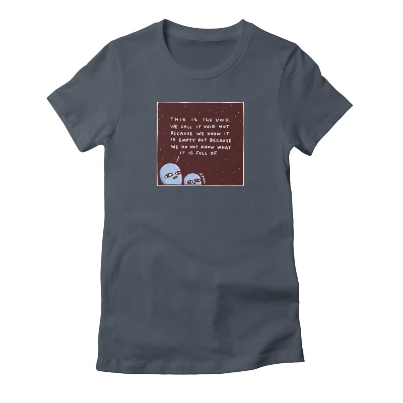 STRANGE PLANET SPECIAL PRODUCT: THE VOID Women's T-Shirt by Nathan W Pyle Shop | Strange Planet Store | Thread